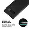 G-Case Samsung Galaxy Note 8 Cüzdanlı İnce Yan Kapaklı Siyah Deri Kılıf - Resim 3