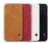 G-Case Samsung Galaxy S8 Cüzdanlı İnce Yan Kapaklı Kahverengi Deri Kılıf - Resim 1