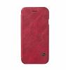 G-Case Samsung Galaxy S8 Cüzdanlı İnce Yan Kapaklı Kırmızı Deri Kılıf - Resim 3