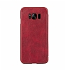 G-Case Samsung Galaxy S8 Cüzdanlı İnce Yan Kapaklı Kırmızı Deri Kılıf - Resim 2