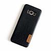 G-Case Samsung Galaxy S8 Deri Rubber Kılıf - Resim 1