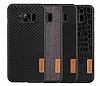 G-Case Samsung Galaxy S8 Plus Deri Rubber Kılıf - Resim 2