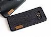 G-Case Samsung Galaxy S8 Plus Kumaş Görünümlü Rubber Kılıf - Resim 1