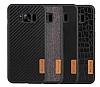 G-Case Samsung Galaxy S8 Plus Kumaş Görünümlü Rubber Kılıf - Resim 3
