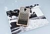 General Mobile Android One Taşlı Geçişli Siyah Silikon Kılıf - Resim 2