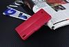 Eiroo General Mobile Discovery Air Cüzdanlı Yan Kapaklı Kırmızı Deri Kılıf - Resim 4