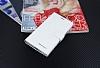 Eiroo General Mobile Discovery Elite Cüzdanlı Yan Kapaklı Beyaz Deri Kılıf - Resim 4