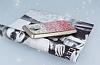 General Mobile GM 5 Plus Taşlı Geçişli Pembe Silikon Kılıf - Resim 2
