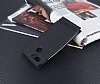 General Mobile GM 8 GO Gizli Mıknatıslı Yan Kapaklı Siyah Deri Kılıf - Resim 2
