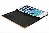 GOODEA iPhone 6 / 6S Ahşap Kapaklı Siyah Kılıf - Resim 2