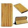 GOODEA iPhone 6 / 6S Doğal Bambu Kapaklı Kılıf - Resim 4