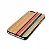 GOODEA iPhone 6 / 6S Rainbow Ahşap Kılıf - Resim 1
