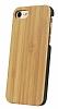 GOODEA iPhone 7 / 8 Doğal Bambu Kılıf - Resim 4