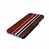 GOODEA iPhone 7 Plus / 8 Plus Darkwood Rainbow Ahşap Kılıf - Resim 2