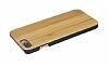 GOODEA iPhone 7 Plus / 8 Plus Doğal Bambu Kılıf - Resim 3
