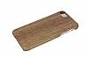 GOODEA iPhone 7 Ultra Thin Darkwood Ahşap Kılıf - Resim 3