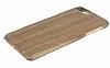 GOODEA iPhone 7 Plus / 8 Plus Ultra Thin Darkwood Ahşap Kılıf - Resim 2