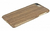 GOODEA iPhone 7 Plus Ultra Thin Darkwood Ahşap Kılıf - Resim 2