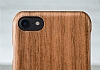 GOODEA iPhone 7 Plus / 8 Plus Ultra Thin Darkwood Ahşap Kılıf - Resim 3