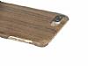GOODEA iPhone 7 Plus / 8 Plus Ultra Thin Darkwood Ahşap Kılıf - Resim 1