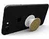 HandSockets Gold Simli Telefon Tutucu ve Stand - Resim 3