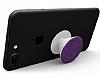 HandSockets Mor Simli Telefon Tutucu ve Stand - Resim 4