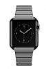 Hoco Apple Watch Link Bracelet Dark Silver Metal Kordon (42 mm) - Resim: 2