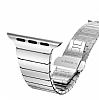 Hoco Apple Watch Link Bracelet Silver Metal Kordon (42 mm) - Resim: 1