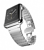 Hoco Apple Watch Link Bracelet Silver Metal Kordon (42 mm) - Resim: 3