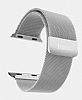 Hoco Apple Watch Milanese Loop Silver Metal Kordon (42 mm) - Resim: 1