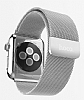 Hoco Apple Watch Milanese Loop Silver Metal Kordon (42 mm) - Resim: 2