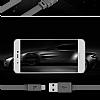 Hoco Bamboo X5 USB Type-C Siyah Data Kablosu 1m - Resim 3
