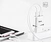 Hoco C12 Micro USB Yüksek Kapasiteli Siyah Şarj Aleti - Resim 4