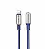 Hoco Capsule Serisi U17 Lightning Mavi Data Kablosu 1.2m - Resim 9