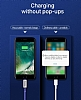 Hoco Capsule Serisi U17 Lightning Mavi Data Kablosu 1.2m - Resim 5
