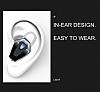 Hoco E17 Master Mini Tekli Kırmızı Bluetooth Kulaklık - Resim 5