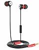 Hoco EPM01 Premium Mikrofonlu Kulakiçi Kırmızı Kulaklık - Resim 5