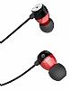 Hoco EPM01 Premium Mikrofonlu Kulakiçi Kırmızı Kulaklık - Resim 6