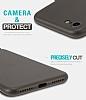 Hoco Frosted Thin iPhone 7 / 8 Ultra İnce Siyah Rubber Kılıf - Resim 3