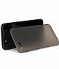 Hoco Frosted Thin iPhone 7 Ultra İnce Siyah Rubber Kılıf - Resim 1