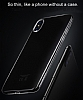 Hoco iPhone X / XS Şeffaf Silikon Kılıf - Resim 5