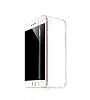 Hoco Light Series iPhone 7 / 8 Şeffaf Silikon Kılıf + Siyah Cam Ekran Koruyucu - Resim 2