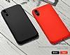 Hoco Original Series iPhone X / XS Siyah Silikon Kılıf - Resim 2