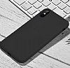 Hoco Original Series iPhone X / XS Siyah Silikon Kılıf - Resim 1