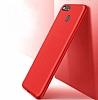 Honor 7X Mat Kırmızı Silikon Kılıf - Resim 3