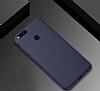 Honor 7X Mat Lacivert Silikon Kılıf - Resim 2