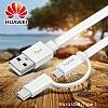 Honor Micro USB & Type-C Beyaz Data Kablosu 1.5m - Resim 7