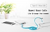 Honor Micro USB & Type-C Beyaz Data Kablosu 1.5m - Resim 4