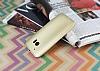 HTC 10 Mat Gold Silikon Kılıf - Resim 1
