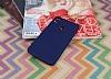 HTC Desire 10 Pro Mat Dark Blue Silikon Kılıf - Resim 1